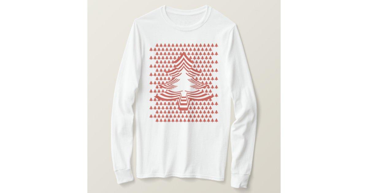 spa mit bild schriftart roter weihnachtsbaum t shirt. Black Bedroom Furniture Sets. Home Design Ideas