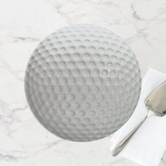 Spaß-Neuheits-Golfball-Sport Tortenplatte