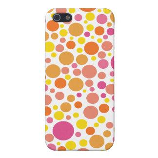 Spaß niedliches dotty Gehäuse Musters Iphone4 iPhone 5 Etuis