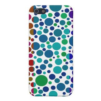Spaß niedliches dotty Pern 4 Gehäuse iPhone 5 Schutzhüllen