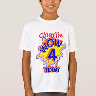 Spaß-personalisierte 4. Geburtstags-Neuheit T-Shirt