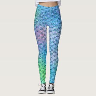 Spaß-personalisierte multi Farbabstraktes Leggings