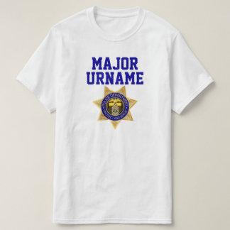 Spaß-personalisierte Polizei-Militärfamilien-Set T-Shirt