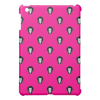 Spaß-Pinguine über Pink-Muster iPad Mini Hülle