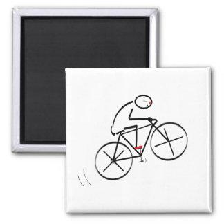Spaß-Radfahrer-Entwurf Quadratischer Magnet