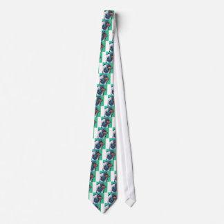 Spaß-rauer Collie-helle bunte Pop-Kunst Individuelle Krawatte