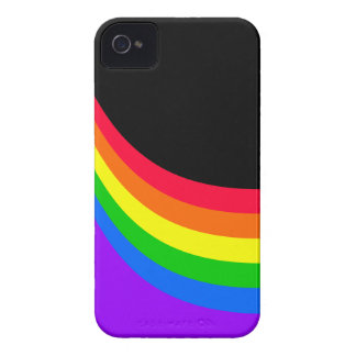 Spaß-Regenbogen-Entwürfe iPhone 4 Hülle