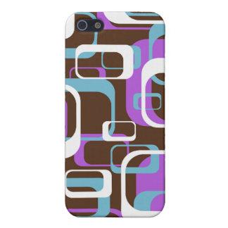 Spaß-Retro lila Speck-Kasten iPhone 4 Hülle Fürs iPhone 5