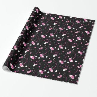 Spaß-rosa abstraktes (ändern Sie die Geschenkpapier