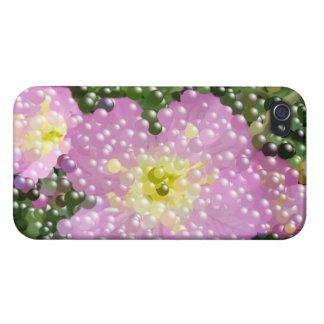 Spaß-rosa Blumen-Blüte iphone 5 Fall iPhone 4 Etui
