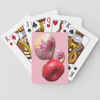 Spaß-rosa Krapfen-Spielkarten Spielkarten