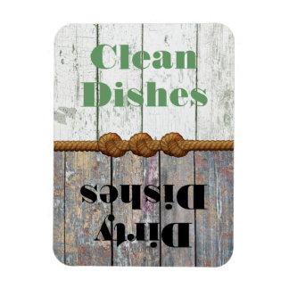 Spaß-sauberer schmutziger Spülmaschinen-Magnet