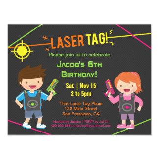 Spaß scherzt Laser-Umbau-Geburtstags-Party 10,8 X 14 Cm Einladungskarte