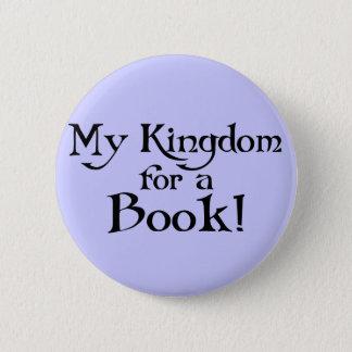 Spaß Shakespeare mein Königreich für einen Buch-T Runder Button 5,7 Cm