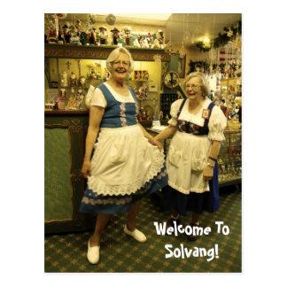 Spaß Solvang Postkarte! Postkarte