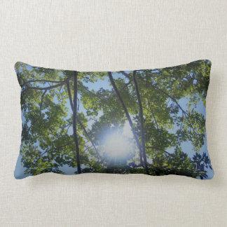 Spaß-sonniges Baum-Natur-Drucklumbar-Kissen Lendenkissen