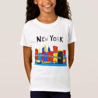 Spaß, spielerische Illustration von T-Shirt