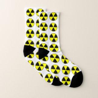Spaß-Strahlungs-Symbol Socken