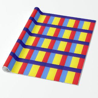 Spaß striped geschenkpapier