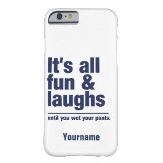 SPASS u. LACHEN-Name- u. -farbtelefon-Hüllen Barely There iPhone 6 Hülle