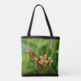 Spaß u. neue gelbe Blume Panamá Taschen-Tasche - Tasche