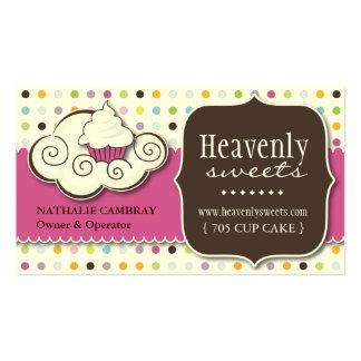 Spaß und wunderliche Bäckerei-Visitenkarte des