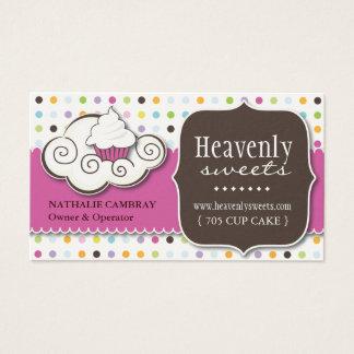 Spaß und wunderliche Bäckerei-Visitenkarte des Visitenkarte