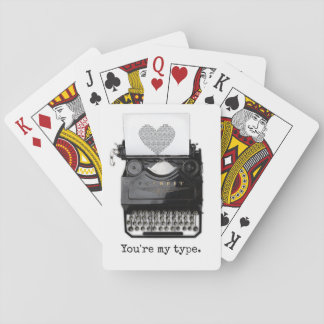 Spaß-Valentinstag | sind Sie meine Art Spielkarten
