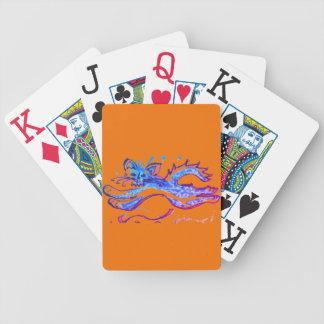 Spaß-Wasser-Katze, die Spielkarten des riesigen