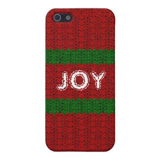 Spaß-Weihnachtsstrickjacke-Blick-Name-Abdeckung iPhone 5 Cover