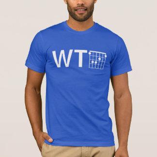 Spaß WTF mit Akkord der Gitarren-F T-Shirt