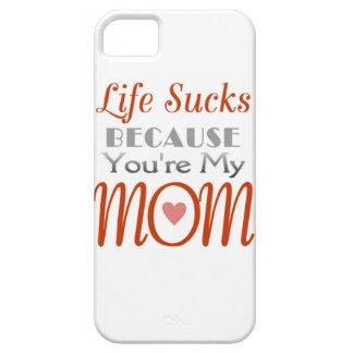 Spaßaussage der Mutter Tages iPhone 5 Schutzhüllen