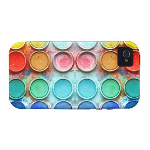 Spaßfarben-Farbkasten Vibe iPhone 4 Hülle