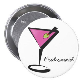 Spaßmartini-Pink Anstecknadel