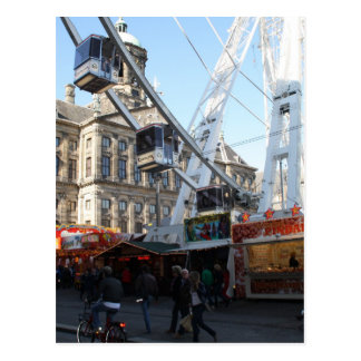 Spaßmesse in Amsterdam Postkarten