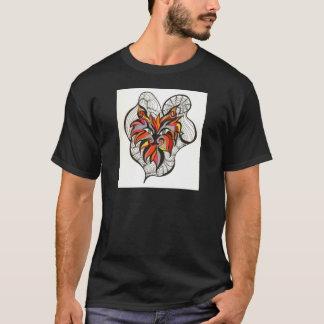 Spaßvogel-Katze T-Shirt