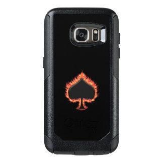 Spaten-Flammen OtterBox Samsung Galaxy S7 Hülle