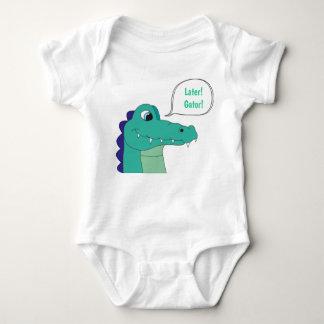 Später! Alligator! Baby-Bodysuit Baby Strampler