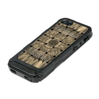 Spätestes afrikanisches reizendes gesponnenes incipio ATLAS ID™ iPhone 5 hülle