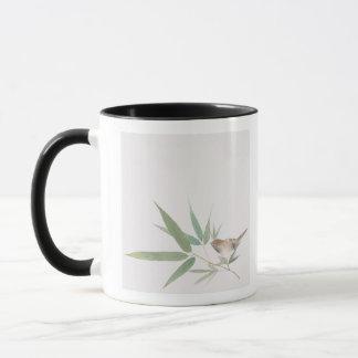 Spatz und Bambus Tasse