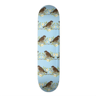 Spatzen 19,1 Cm Old School Skateboard Deck