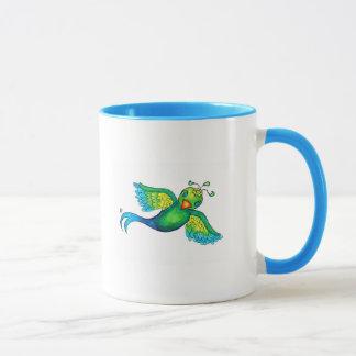 Spatzen-Kaffee-Tasse Tasse