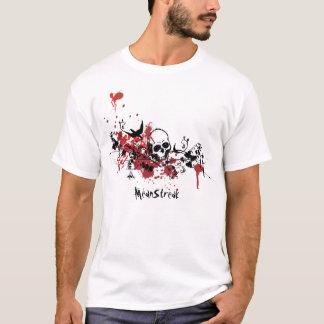 Spatzen-Nest-Rot T-Shirt