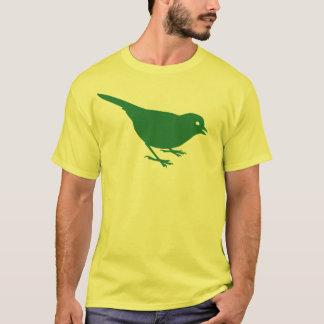 Spatzen-T - Shirt-Grün T-Shirt