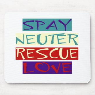 Spay sächliche Rettungs-Liebe Mauspads