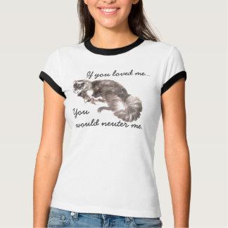 Spay u. neutralisieren Sie Ihr Haustier-Shirt T-Shirt