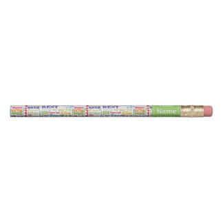 Special-35. Geburtstags-Party-personalisierte Bleistifte 0