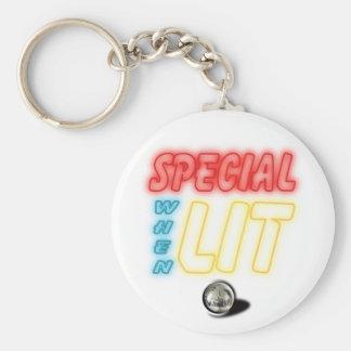Special wenn Lit-Flipperautomat-Schlüsselkette Schlüsselanhänger