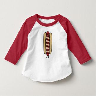 Speck eingewickelte Hotdog-Würstchen-Dackel T-Shirt