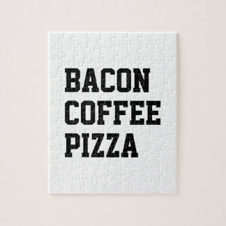 Speck-Kaffee-Pizza Puzzle